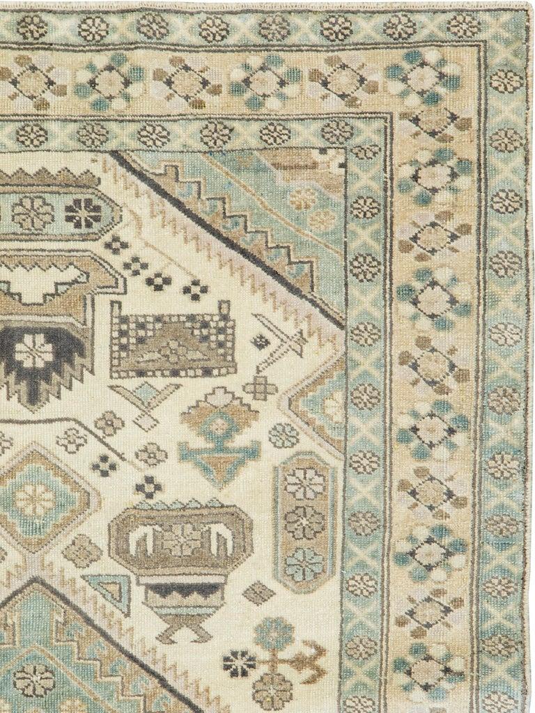 Folk Art Vintage Persian Ardebil Rug For Sale