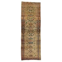 Vintage Persian Azerbaijan Hallway Runner, Azari Carpet Runner