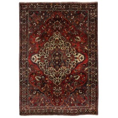 Vintage Persian Bakhtiari Rug with Traditional Style