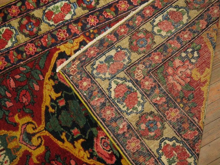 Vintage Persian Bakhtiari Runner For Sale 1