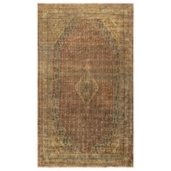 "Vintage Persian Bibikabad Rug, circa 1930 10'6"" x 18'5""."