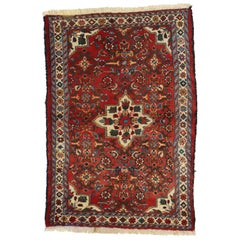 Vintage Persian Borchelou Hamadan Rug, Entry or Foyer Rug