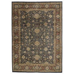 Vintage Persian Design Pakistani Area Rug with Medieval Renaissance Style