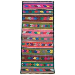 Vintage Persian Flat-Weave