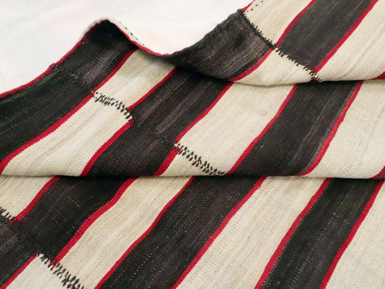Vintage Persian Flat-Weave Kilim For Sale 3