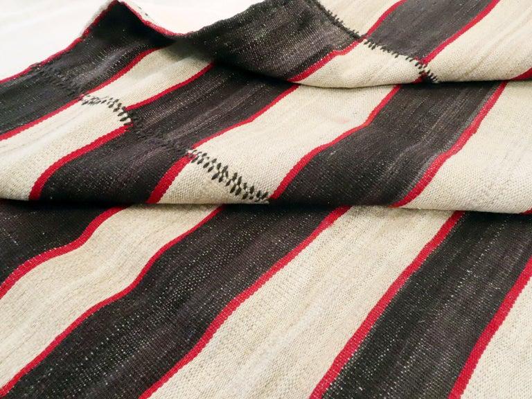 Vintage Persian Flat-Weave Kilim For Sale 4