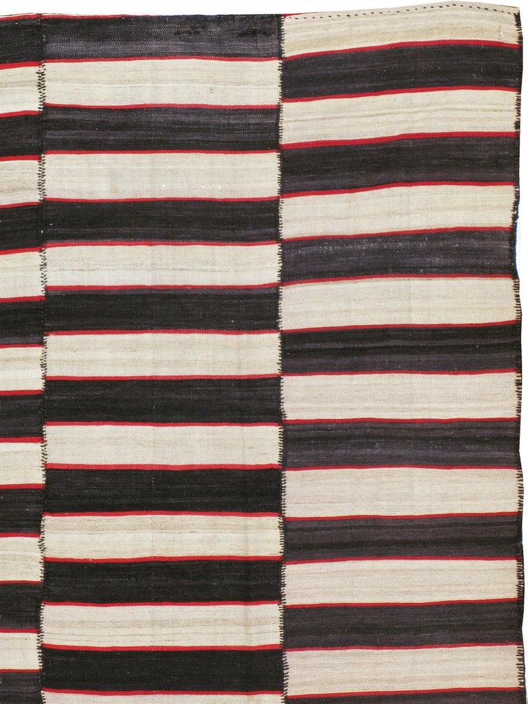 Tribal Vintage Persian Flat-Weave Kilim For Sale
