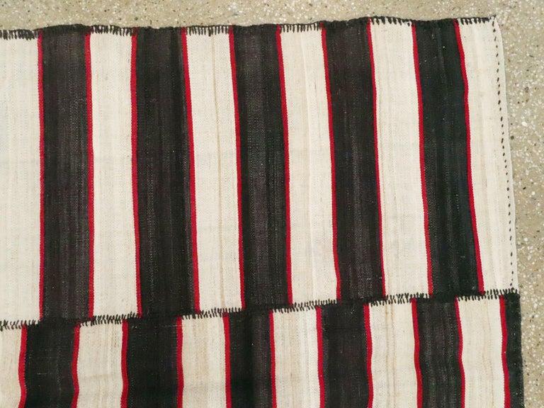 Vintage Persian Flat-Weave Kilim For Sale 1