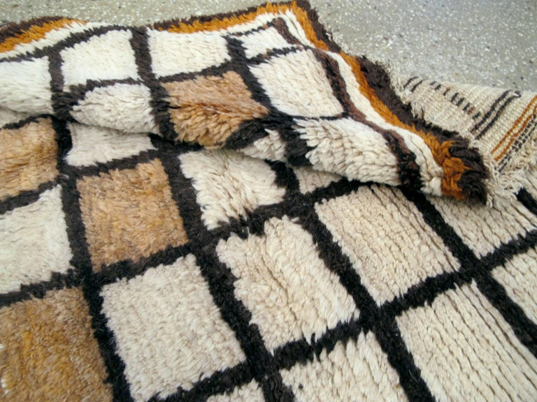 Wool Vintage Persian Gabbeh Rug For Sale