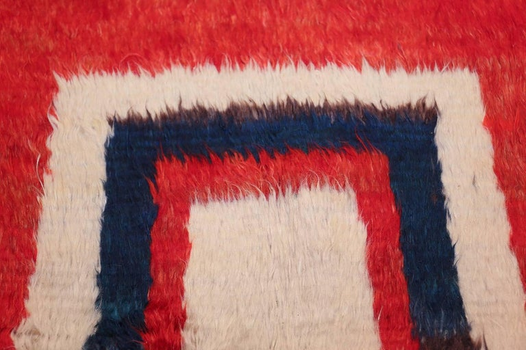 Vintage Persian Gabbeh Rug For Sale 1