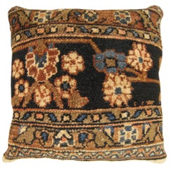 Vintage Persian Hamadan Carpet Pillow