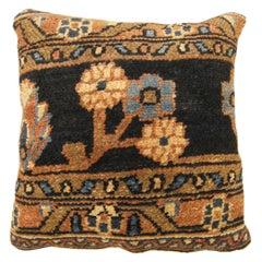 Vintage Persian Hamadan Carpet Pillow