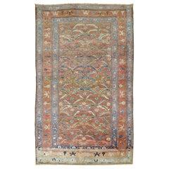 Vintage Persian Hamadan Malayer Rug