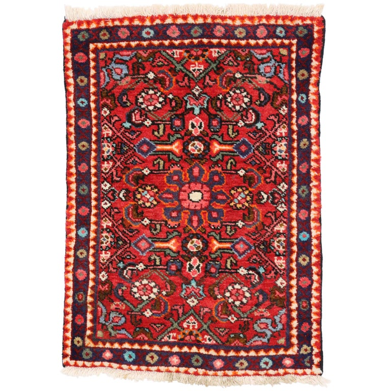 Foyer Rugs Sale : Vintage persian hamadan rug for kitchen bathroom foyer