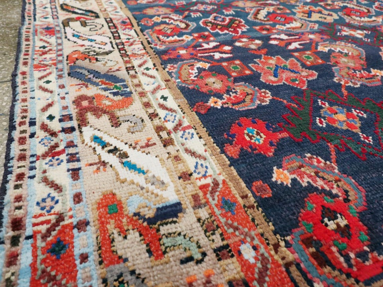 Vintage Persian Hamadan Rug In Good Condition For Sale In New York, NY