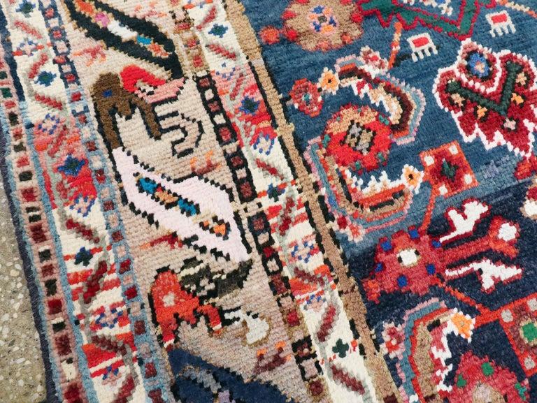 20th Century Vintage Persian Hamadan Rug For Sale