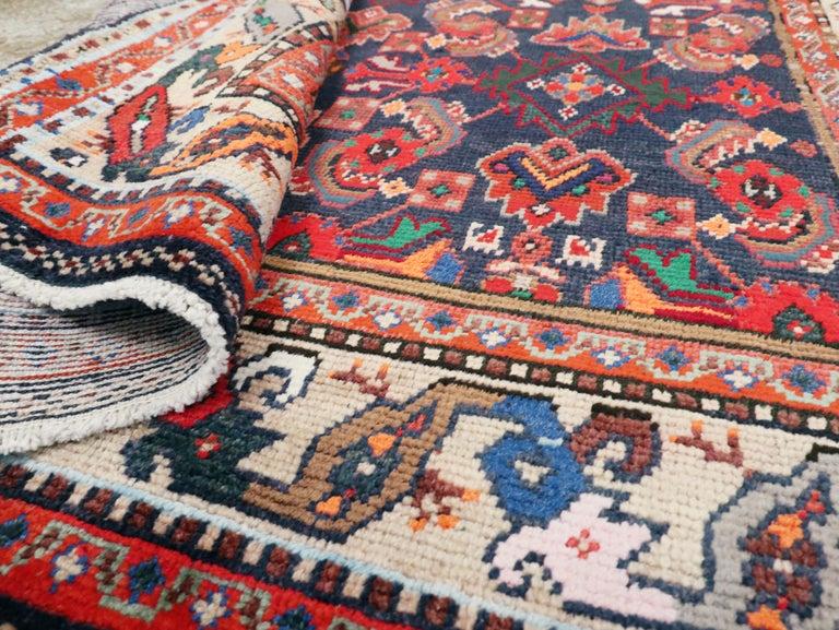 Vintage Persian Hamadan Rug For Sale 2