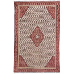 Vintage Persian Hamadan Rug with All-Over Boteh