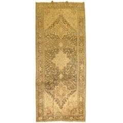Vintage Persian Heriz Gallery Rug