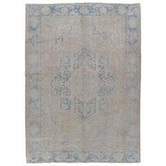 Vintage Persian Heriz Rug, circa 1940
