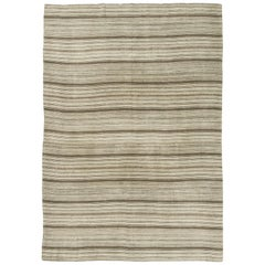 Vintage Persian Jejim Kilim Flat-Weave Rug