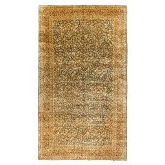 Vintage Persian Kerman Rug, circa 1920  9'10 x 17'2