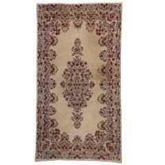 Vintage Persian Kerman Palace Size Rug, Persian Kirman Rug