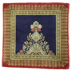 Vintage Persian Kerman Rug with Neoclassical Style