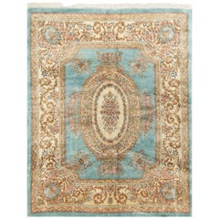 Vintage Persian Kirman Rug