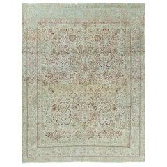Vintage Persian Lavar Kerman Rug
