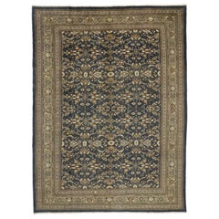 Vintage Persian Mahal Area Rug with English Traditional Style