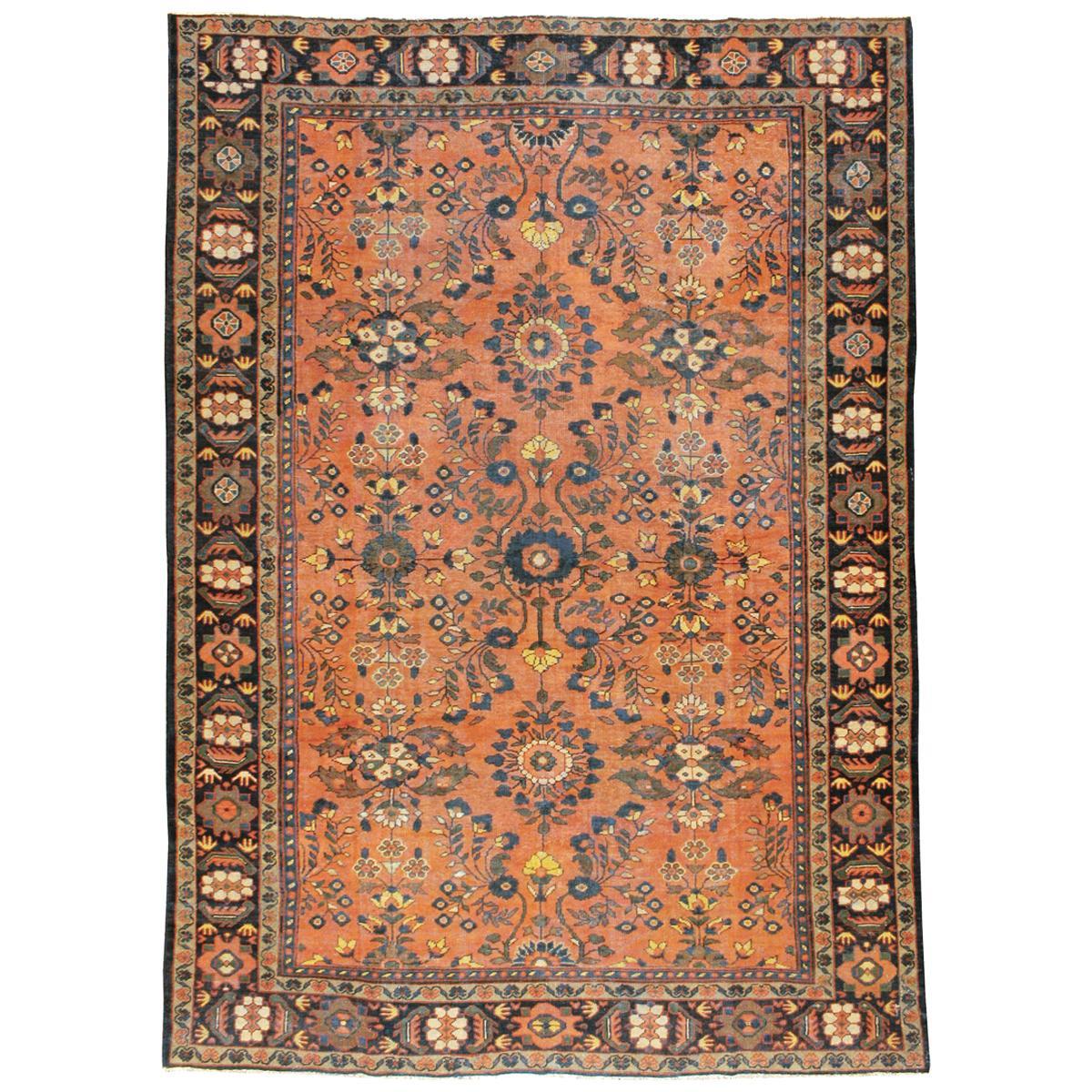 Vintage Persian Mahal Carpet