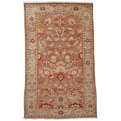 Persian Mahal Style Rug Jewel Tones