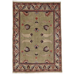 Vintage Persian Mahal Rug with William Morris Arts & Crafts Style