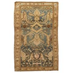 Vintage Persian Malayer Rug, circa 1920