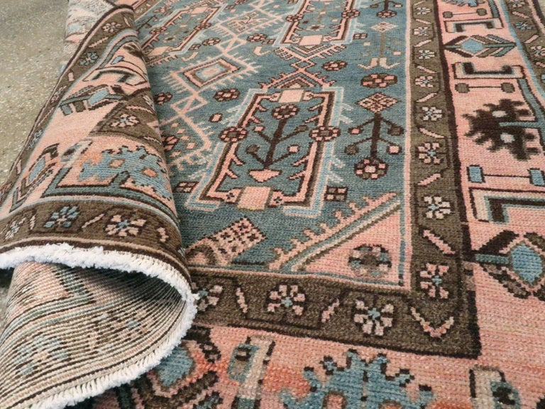 Vintage Persian Malayer Rug For Sale 3