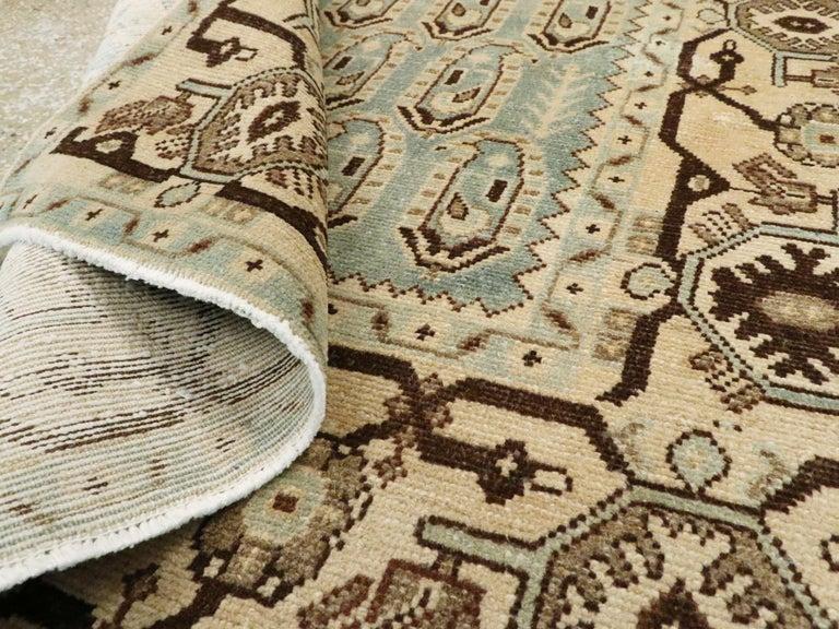 Vintage Persian Malayer Rug For Sale 1