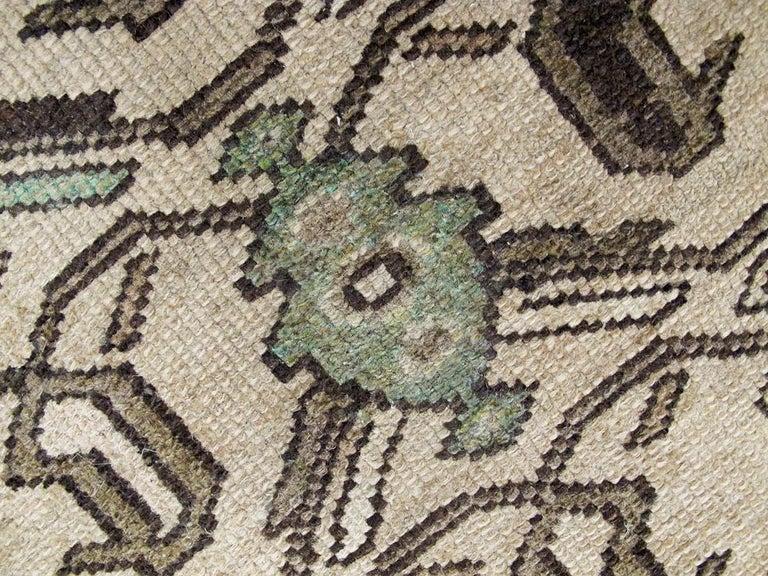 Vintage Persian Malayer Rug For Sale 3