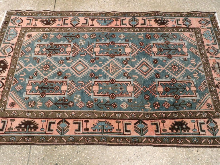 Vintage Persian Malayer Rug For Sale 2