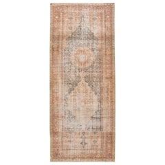 Vintage Persian Malayer Wool Runner