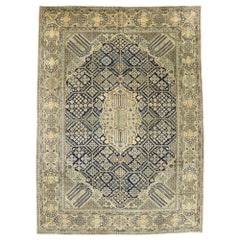 Vintage Persian Najafabad Rug with Joshegan Design and French Country Style