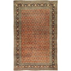 Vintage Persian Oversize Tabriz Rug
