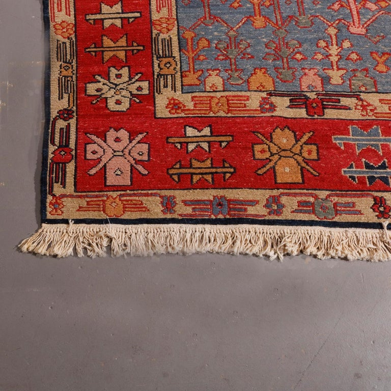 Vintage Persian Serapi Tribal Wool Carpet, 20th Century For Sale 1