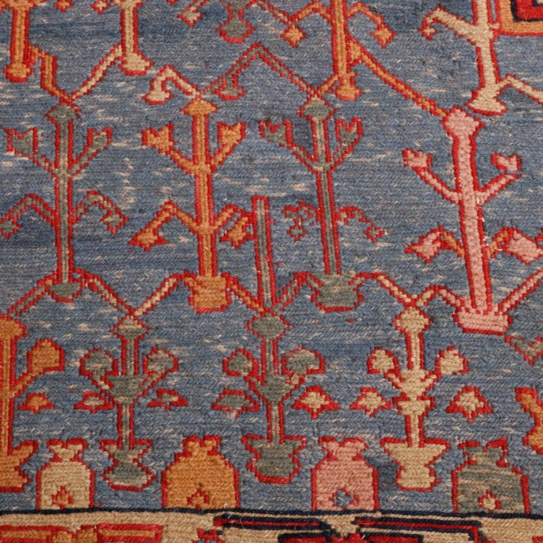 Vintage Persian Serapi Tribal Wool Carpet, 20th Century For Sale 2