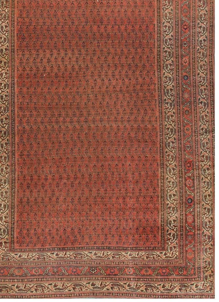 Persian Sereband Circa 1930 Corridor Rug Carpet For Sale