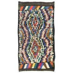 Vintage Persian Shag Rug