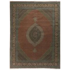 Vintage Persian Tabriz Rug, 11'6 x 16'2