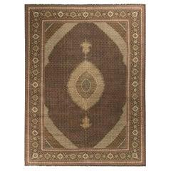 Vintage Persian Tabriz Rug 11'6 x 16'5