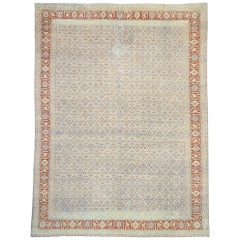 Vintage Persian Tabriz Design Rug with Southern Living American Colonial Style