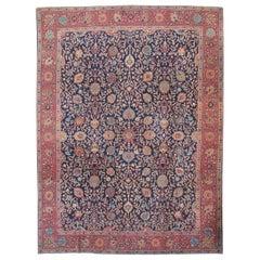Vintage Persian Tabriz Rug, circa 1920  8'5 x 11'6